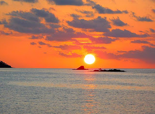 sunset, paya bay resort, green flash, beauty, nature, naturism, roatan, fire, fire island,