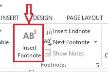 Cara Buat Catatan Kaki Di Microsoft Word