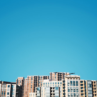 Binalar ve Gökyüzü Hd Duvar Kağıdı