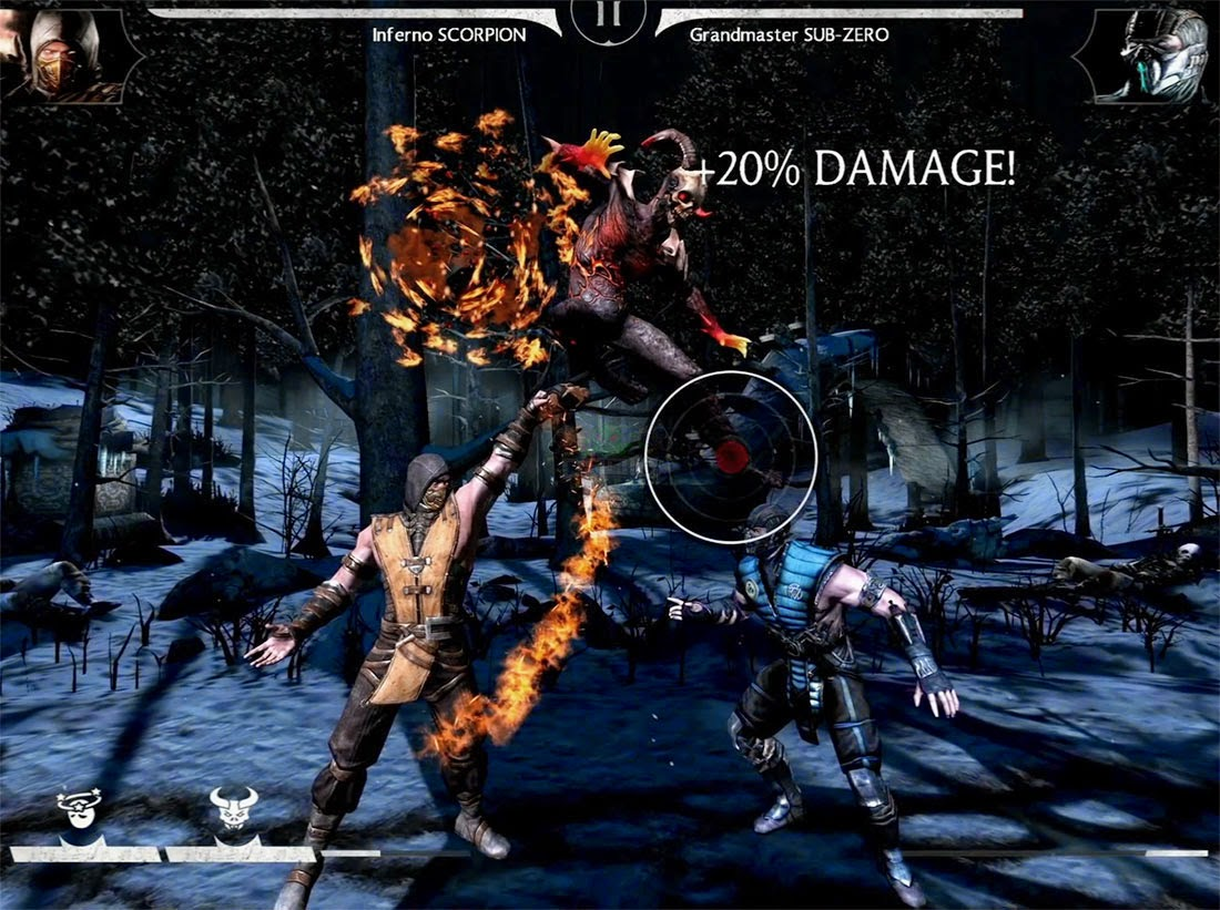 CHARACTERS IN MORTAL KOMBAT X FOR ANDROID