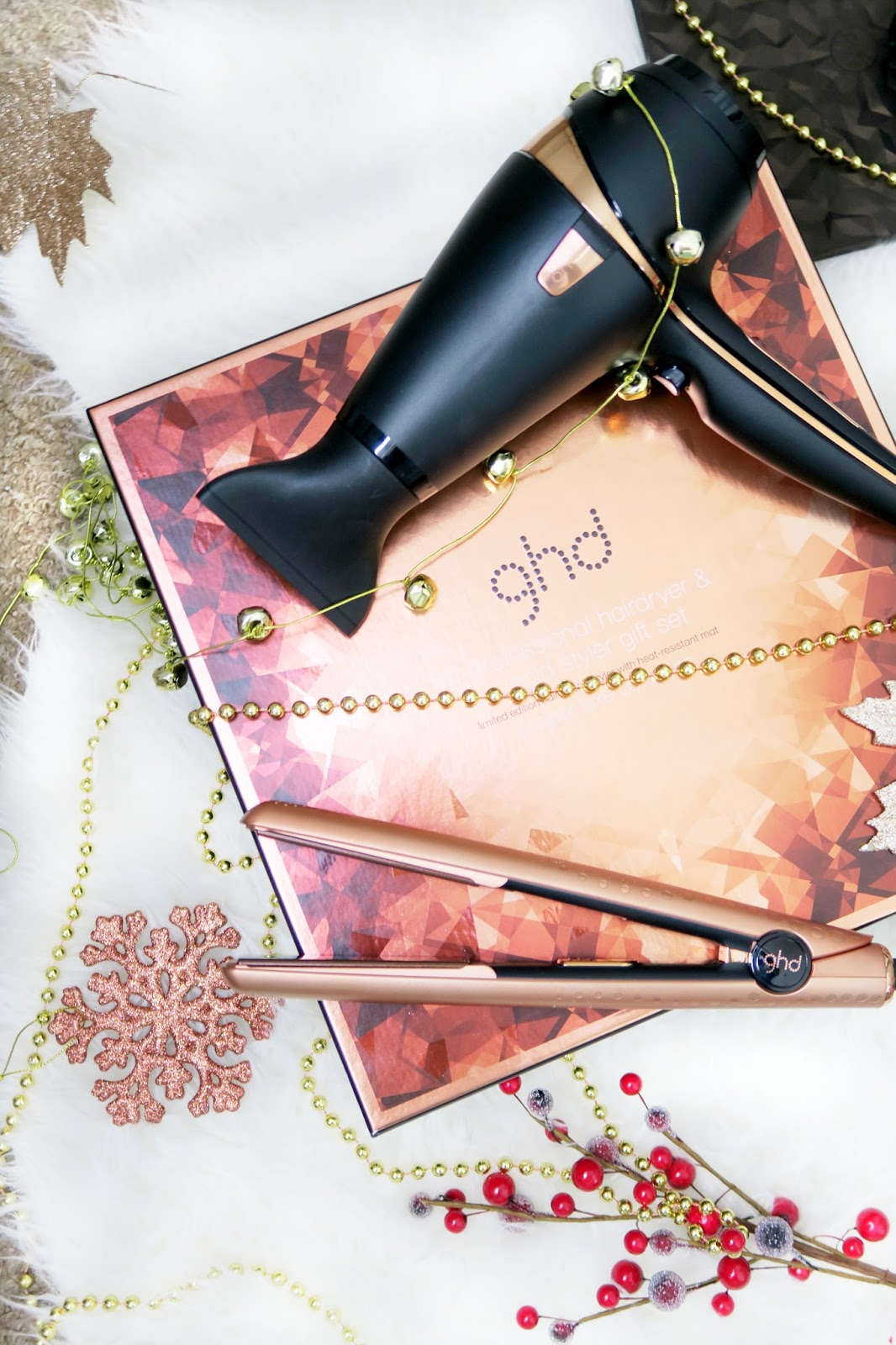an image of ghd holiday copper luxe set