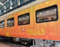 PM Modi Flags Off Tejas Express Between Chennai to Madurai