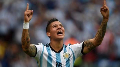 Giây phút thăng hoa khi ghi bàn thắng tại Argentina