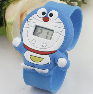 Model Jam Tangan Anak Karakter Kartun Doraemon