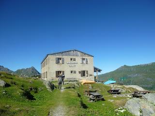 Refugio Tre de la Tete Tour del Mont Blanc