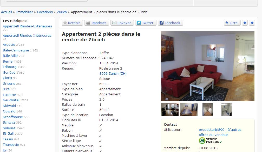 proudstarbj890 appartement 2 pi ces dans le centre de z rich. Black Bedroom Furniture Sets. Home Design Ideas