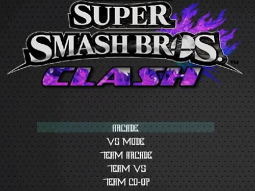 MUGEN PLAYER: SUPER SMASH BROS CLASH