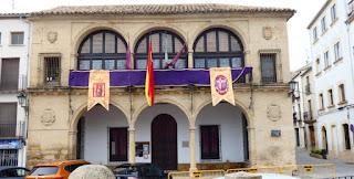Baeza, Balcón del Concejo o Casas Consistoriales Bajas.