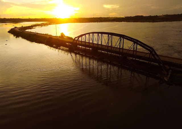 Ponte da BR-364 em Jaci-Parana Porto Veho - RO (Foto: Silva Junior)