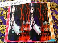 Stiker, skotlet atau garskin skin  hp asus zenfone 5 sasuke (Naruto)