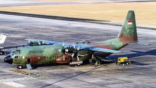 Pesawat Angkut Hercules TNI AU