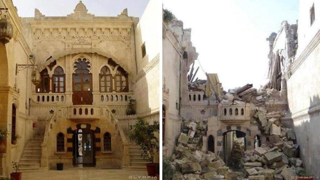 Antes y después de la guerra en Siria