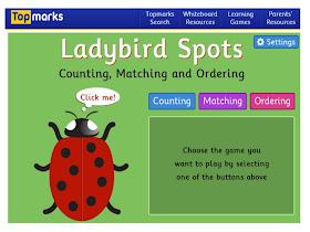 Teachable Moments: Techy Tuesday....Topmarks Ladybirds
