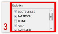 exclude ; flashtool sony xperia m2