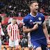 #PremierLeague: #Chelsea rescató un agónico 2-1 ante #Stoke y se acercó al título