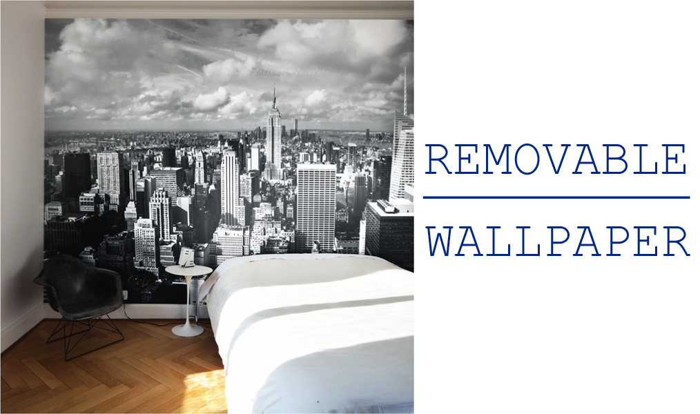 Decata designs solutions for renters - Removable wallpaper for renters ...