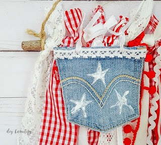 easy flag craft  |  diy beautify