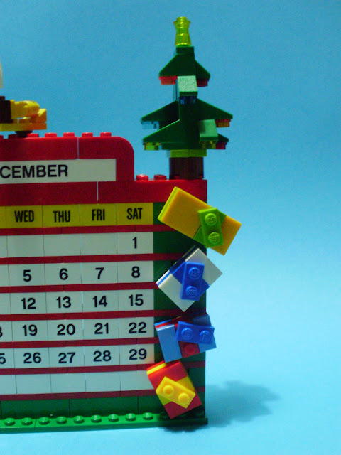 MOC LEGO Calendário dezembro e Presépio
