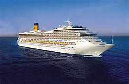 Costa Cruises Costa Concordia During Happier Times.
