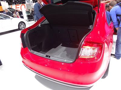 2013 Skoda Rapid trunk