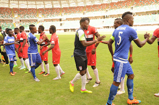 We did not play to the gallery against Rivers United - Maikaba