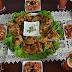 مائدة غداء متنوعة من مطبخ زينب المغير /دجاج مشوي مع سلطات مغربية