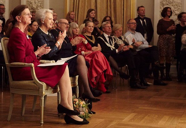 Princess Benedikte, the patron of the Tailors Guild, watched Guilds' Traditional Show 2018 - Laugenes Opvisning 2018 show.