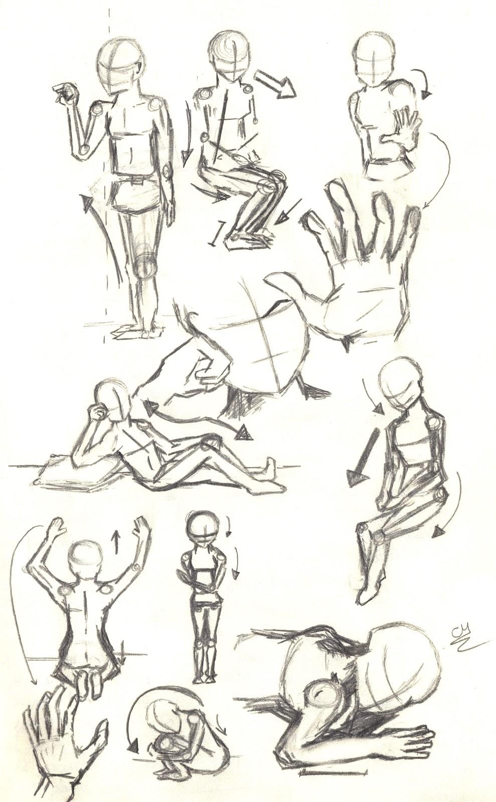 Si el tiempo llega tarde: El camino del dibujante: Anatomía #1