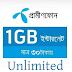 Grameenphone 1 GB Data 30 Taka Unlimited | Trickdunia.com