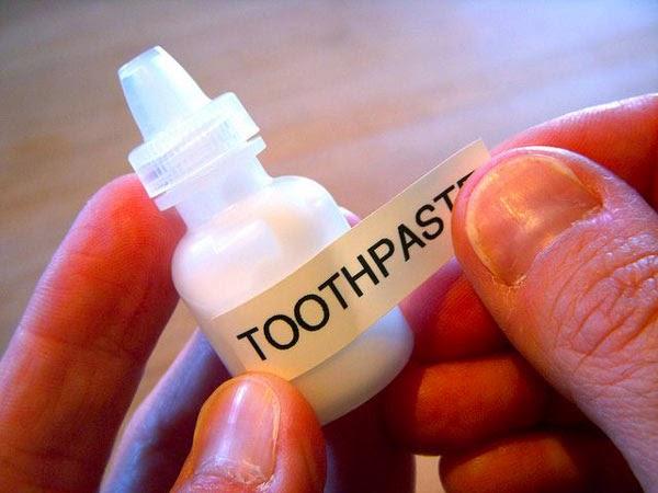 botol tetes mata untuk tempat pasta gigi