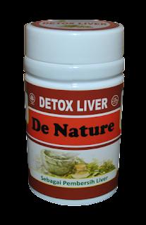 Obat Herbal Detox Liver De Nature Indonesia