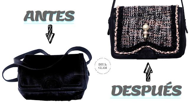 Recicla un bolso inspiración Chanel