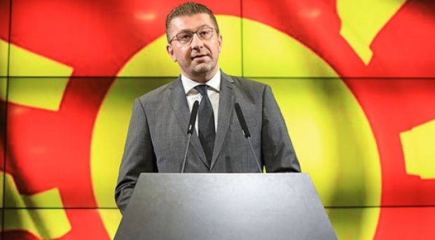 Macedonian opposition against constitutional changes; seeking elections
