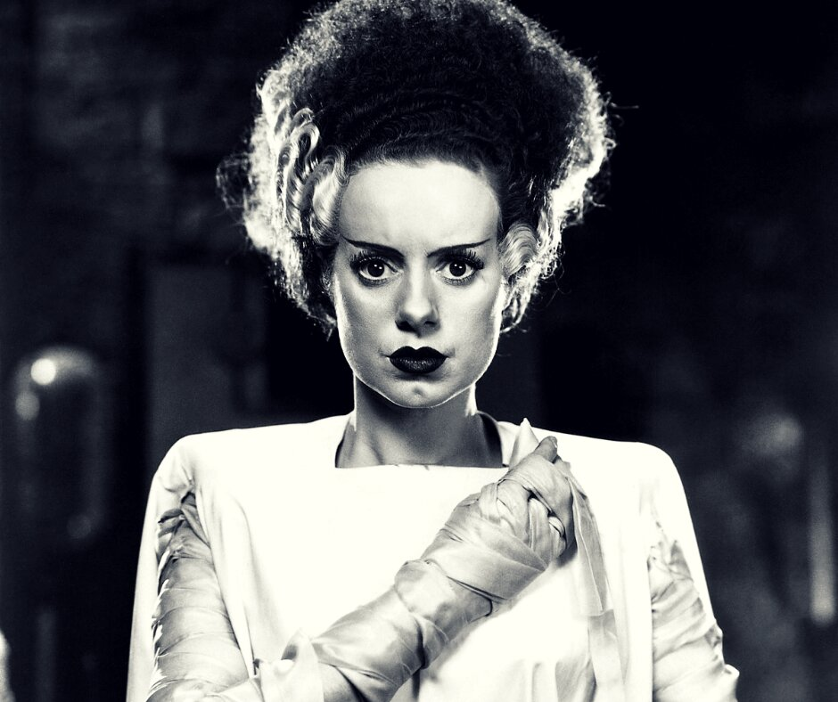 Elsa Lanchester em The Bride of Frankenstein