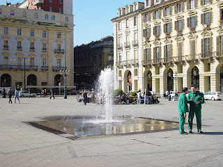 Piazza Castello is at the heart of 'royal' Turin