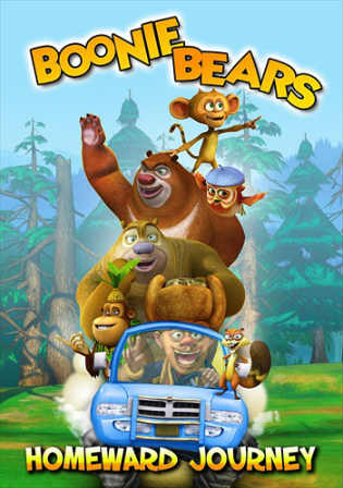 Boonie Bears Homeward Journey 2013 BRRip 200Mb Hindi Dual Audio 480p Watch Online Full Movie Download bolly4u