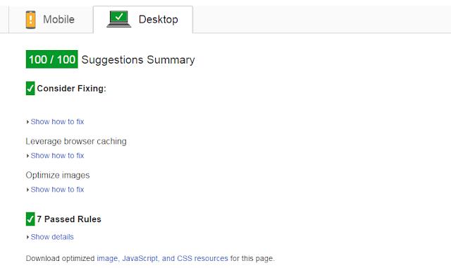 Tối ưu chuẩn PageSpeed Insights cho Blogspot (Blogger) ~ SEOTOP