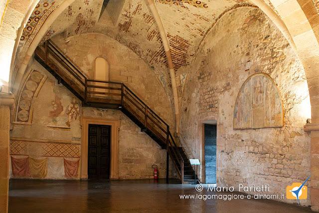 Rocca di Angera, sale storiche, sala della Giustizia