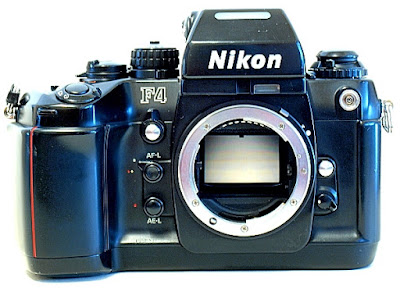Nikon F4, Front