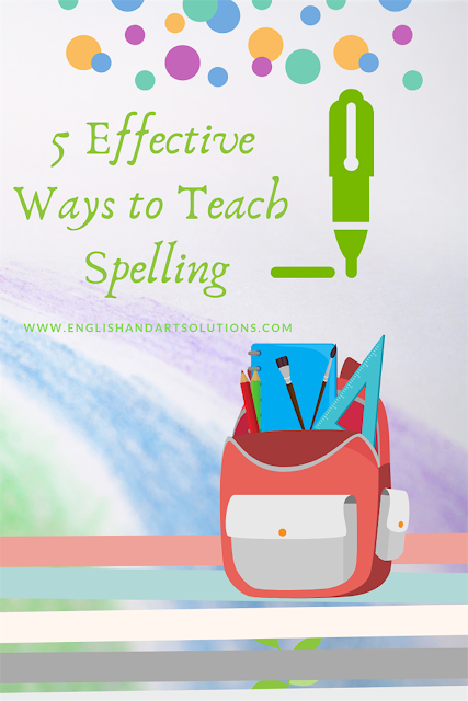 Spelling Flash Cards