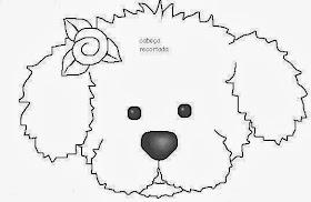Atividades de Artes - Cabeça do cachorro