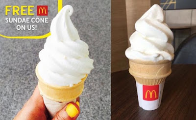 McDonald's Malaysia Online Survey Free Sundae Cone Promo