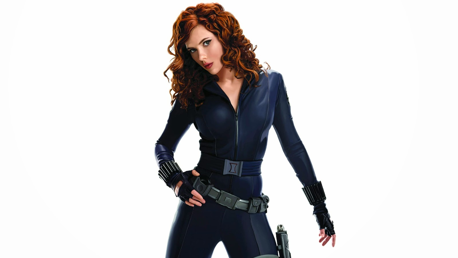 Scarlett Johansson Black Widow Photo