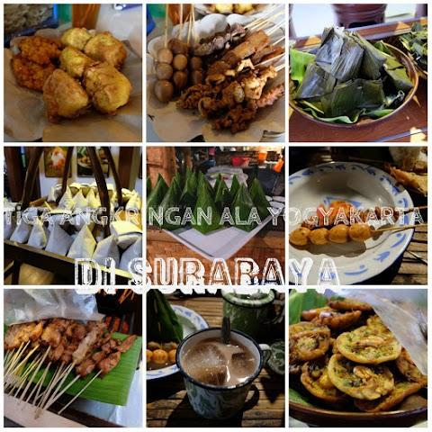 3 Angkringan Ala Yogyakarta di Surabaya