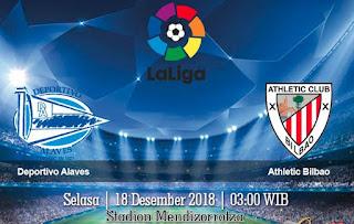Prediksi Deportivo Alaves vs Athletic Bilbao 18 Desember 2018