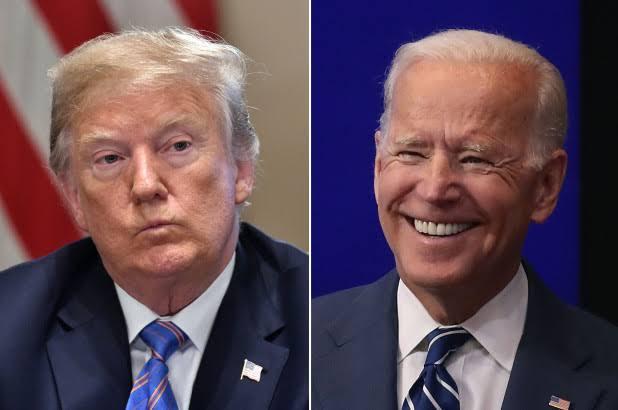Donald Trump reacts to Joe Biden's declaration to run for president in 2020