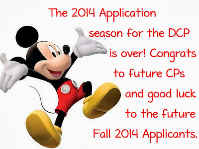DCP 2014 Applications season