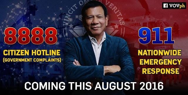 Alamin Po Natin Ang Mga Maaring Ireklamo Sa 8888 Hotline Ni President Duterte