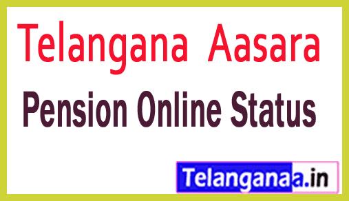 Telangana TS Aasara Pension Online Status Web Site Details Aasara Pension