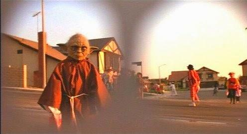 Yoda in the film E.T.